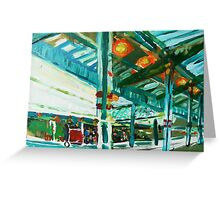 westgate station a study Greeting Card