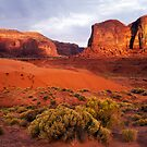 Sunset, Monument valley by photosbytony