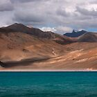 Pangong Lake by RajeevKashyap
