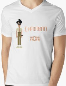The IT Crowd – Chairman Wow! Mens V-Neck T-Shirt