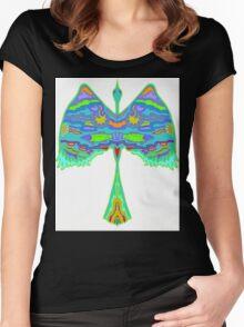 Water Bird Women's Fitted Scoop T-Shirt