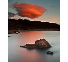 Funky Clouds Photographic Print