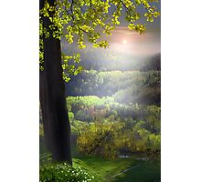 Sunset In The Hills Photographic Print