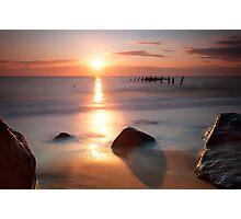 Deceptive Calm - Happisburgh, England Photographic Print