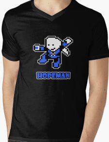 Hopeman Mens V-Neck T-Shirt