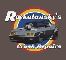 Rockatansky's Crash Repairs by Steve Harvey