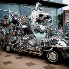 Metal Hound Car by Keith Stephens