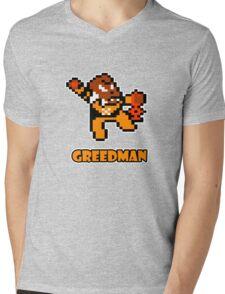 Greedman Mens V-Neck T-Shirt