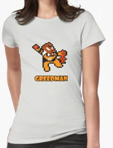 Greedman Womens Fitted T-Shirt
