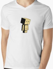 Danbo Mens V-Neck T-Shirt