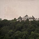 Creepy House on the Hill by Keith Stephens