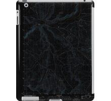 USGS Topo Map Oregon Downey Canyon 20110902 TM Inverted iPad Case/Skin