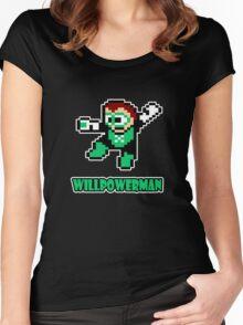 Willpowerman Women's Fitted Scoop T-Shirt