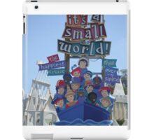 Small world  iPad Case/Skin