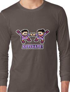 Mega Wonder Twins Long Sleeve T-Shirt