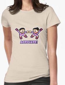 Mega Wonder Twins Womens T-Shirt