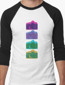 Point and Shoot  Men's Baseball ¾ T-Shirt
