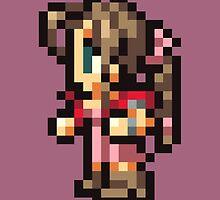 Aerith Sprite - FFRK - Final Fantasy VII (FF7) by Deezer509