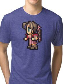 Aerith Sprite - FFRK - Final Fantasy VII (FF7) Tri-blend T-Shirt