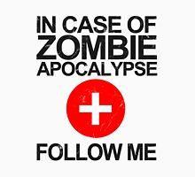 In Case Of Zombie Apocalypse [BLACK TEXT] Unisex T-Shirt