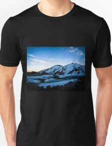 Tranquil Lake Sunset T-Shirt