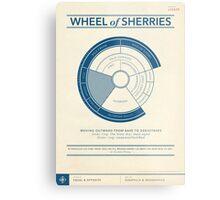 The Wheel of Sherries Metal Print