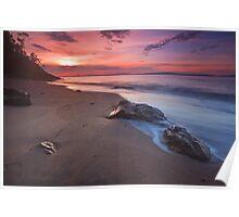 Boronia Beach Sunrise #4 Poster