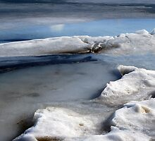 Ice Abstract VIII by Friederike Alexander