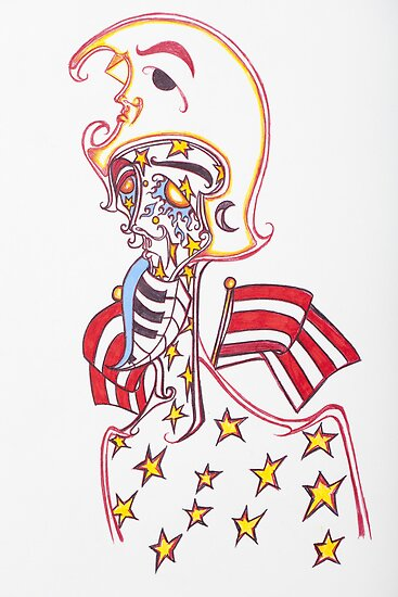 """captain america"" by JohnZemanick"