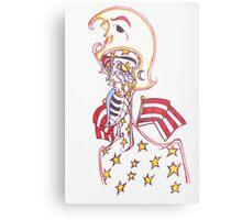 """""""captain america"""" Metal Print"""