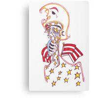 """captain america"" Canvas Print"