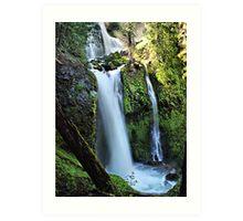 Falls Creek Falls Washington State  Art Print