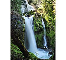 Falls Creek Falls Washington State  Photographic Print