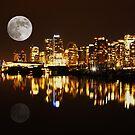 Vancouver at Night : Canada by AnnDixon