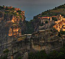 Monasteries of Meteora #1 by Peter Hammer