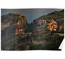 Monasteries of Meteora #1 Poster