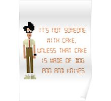 The IT Crowd – Dog Poo and Knives Cake Poster
