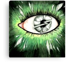 Shattered Eye Canvas Print