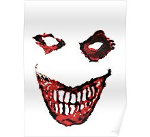 Joker Creepy Smile. Poster
