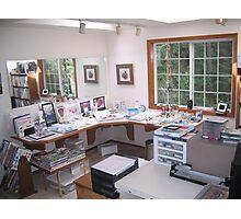 Where I Paint Photographic Print