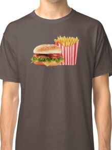 50s Burger and Chips ! Classic T-Shirt