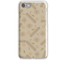 Contour spicy pattern iPhone Case/Skin