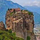 Greece. Meteora. The Monastery of the Holy Trinity. by vadim19