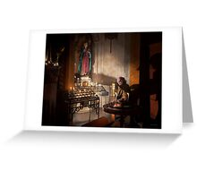 WWII - I'll pray for you 1944 Greeting Card