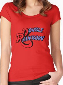 Double Rainbow Women's Fitted Scoop T-Shirt