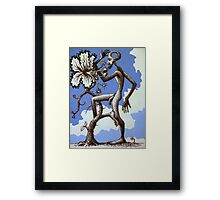 the weed Framed Print