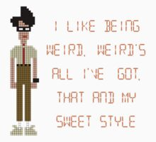 The IT Crowd – I Like Being Weird Baby Tee