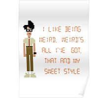 The IT Crowd – I Like Being Weird Poster