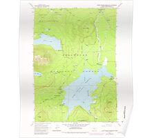 USGS Topo Map Oregon Crane Prairie Reservoir 279499 1963 24000 Poster