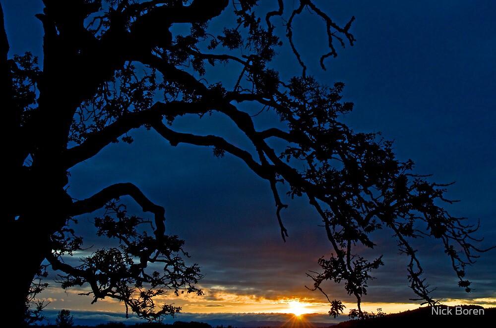 Ankeny Hill Sunset by Nick Boren